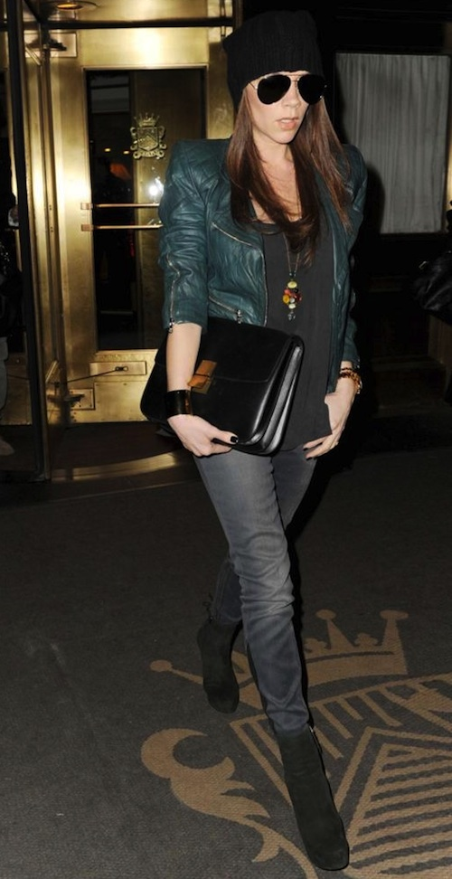 Style In Town Victoria Beckham Carries Celine Classic Box Bag