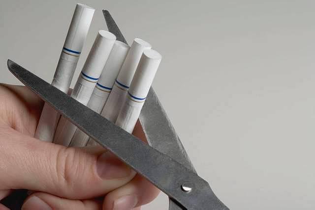 Il marito ha smesso di fumare che aiutare