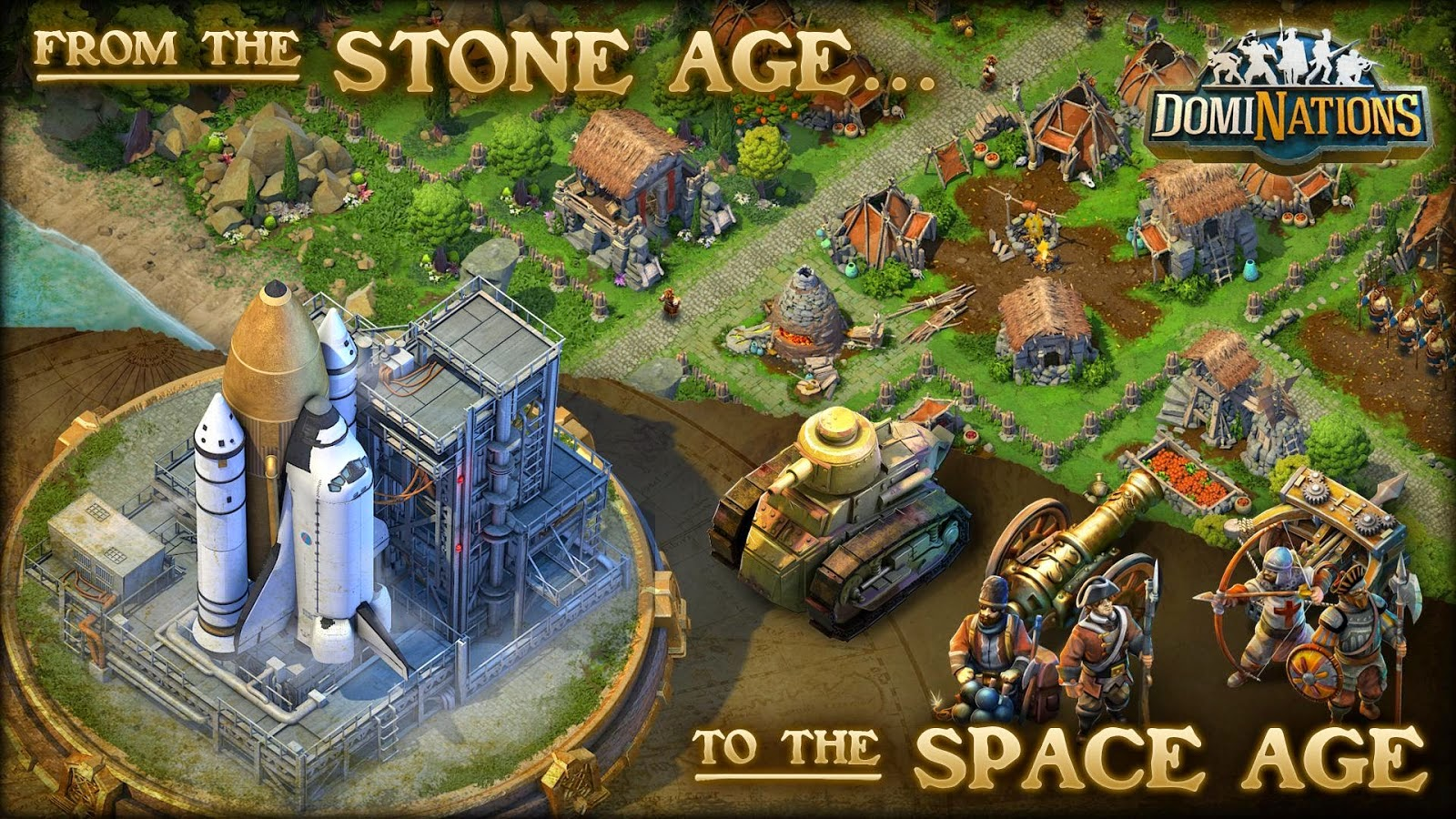 Download DomiNations Apk+Data [Mirip COC]