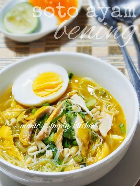 resep soto ayam diet