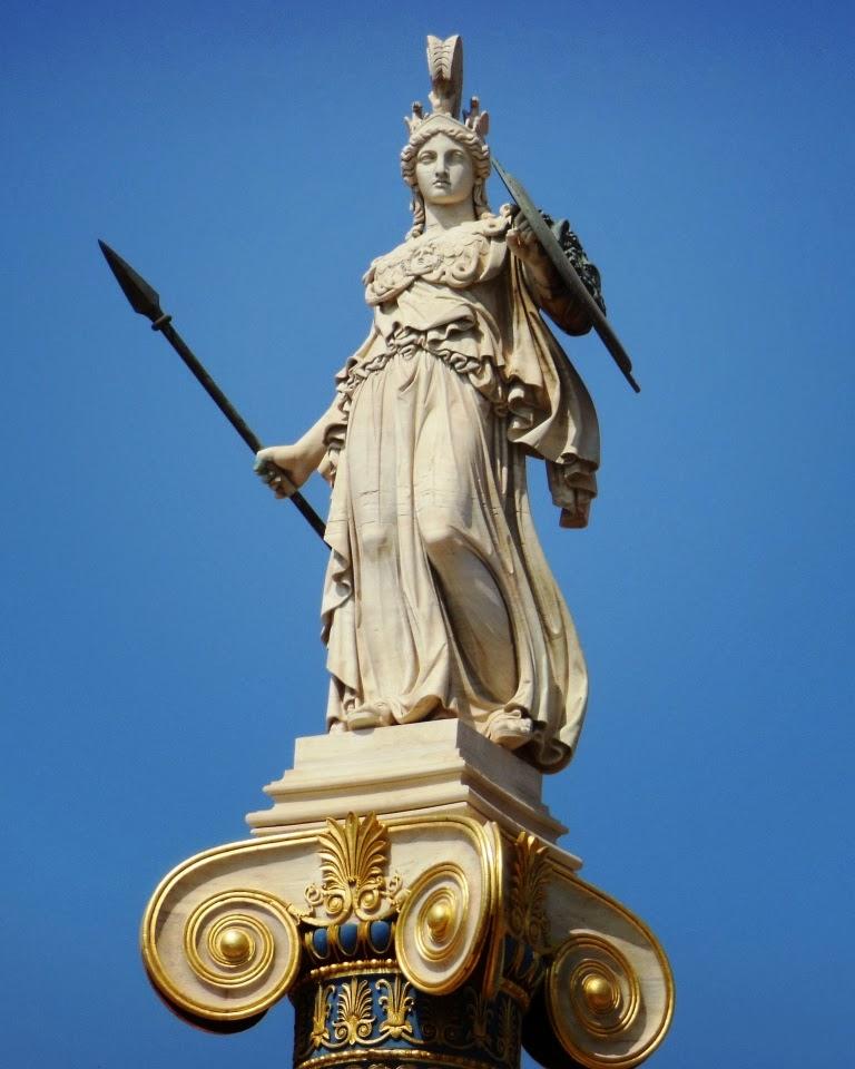 athena mitoloji