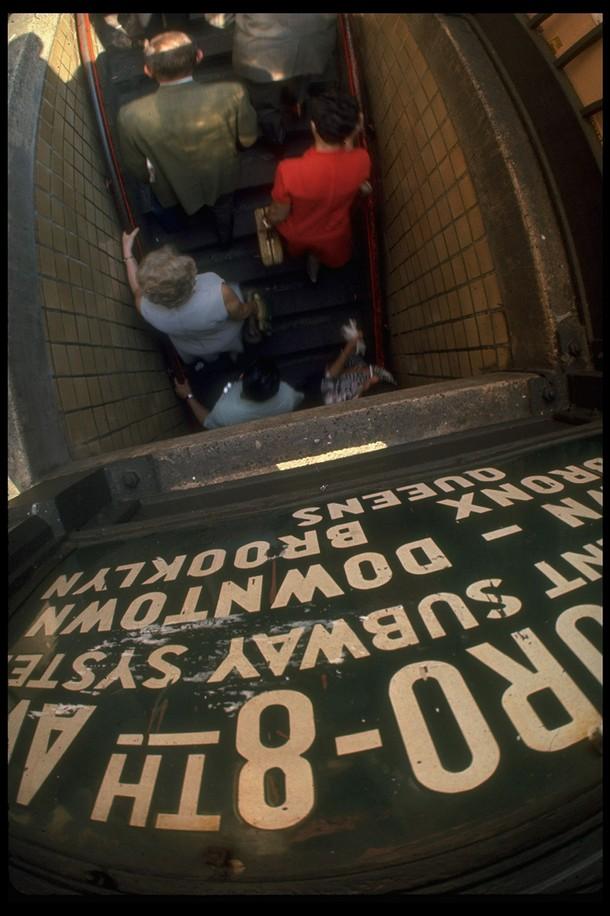 Subway station New York City