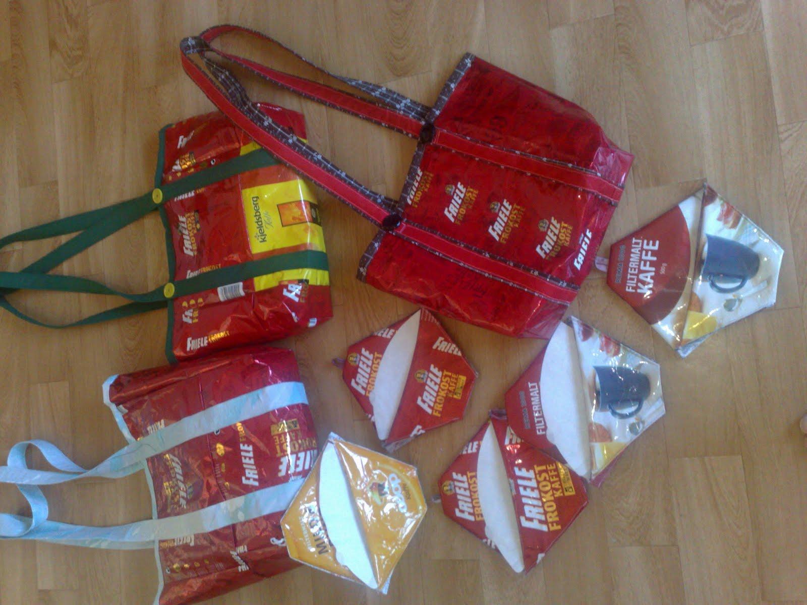 Noen av produktene som ble laget til Steinkaimarkedet 2011. Det meste ...
