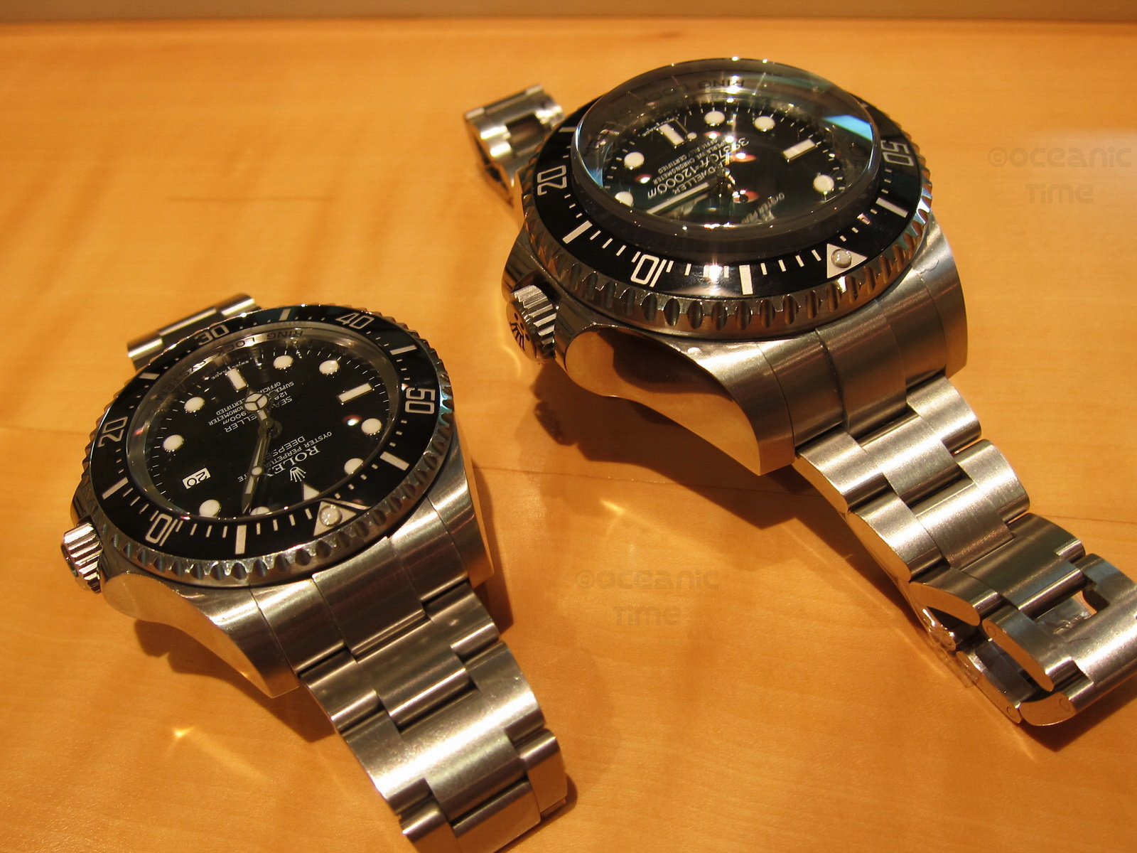 Rolex Sea Dweller Deepsea Challenge 10 908 Meters 35 787 Ft Below