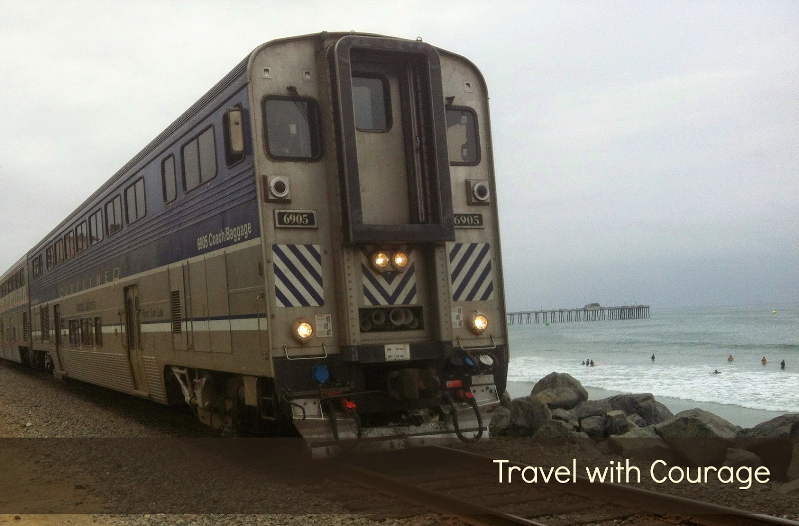 traveling with courage in San Clemente