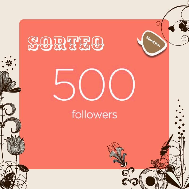 Sorteo 500 seguidores