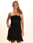 Prom Dress in Black, Stunning and Timeless