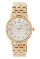 Relógio Mondaine Dourado com fundo branco