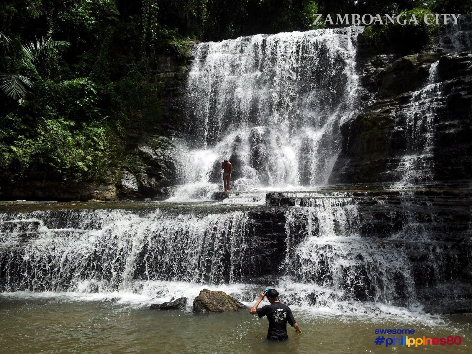 Filipinas Beauty Merloquet Falls Sibulao Zamboanga City Philippines