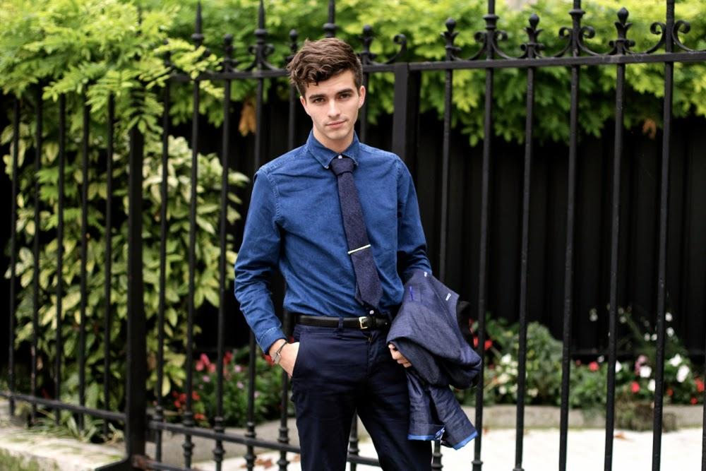 Cavalier-bleu GAPxGQ Dinh Van blog mode homme