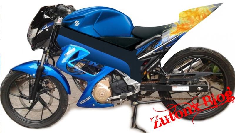 Modifikasi Motor Suzuki Satria FU 150 title=