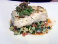 Weight Loss Recipes : Grilled Halibut with Jicama Salsa