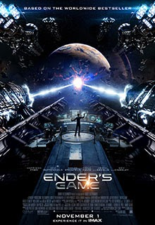 Enders Game IMAX Poster 2013
