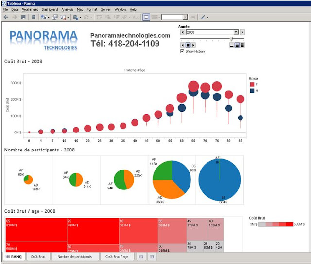 Tableau software 8 quebec obiee cognos microstrategy