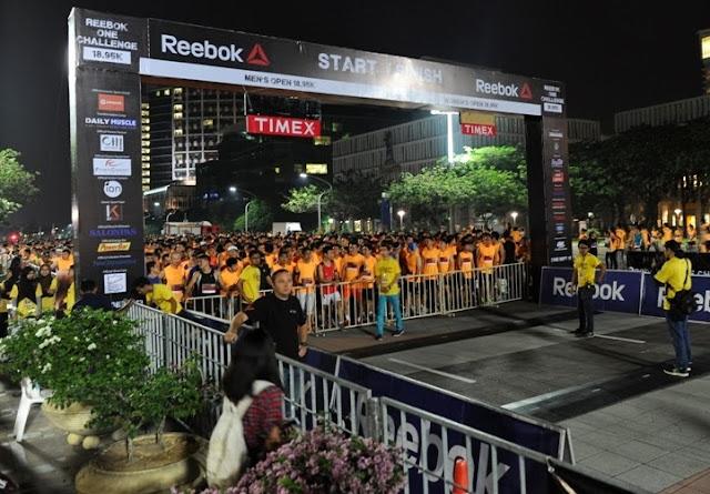 Reebok ONE Challenge 18.95k, reebok, chanllenge, putrajaya, malaysia