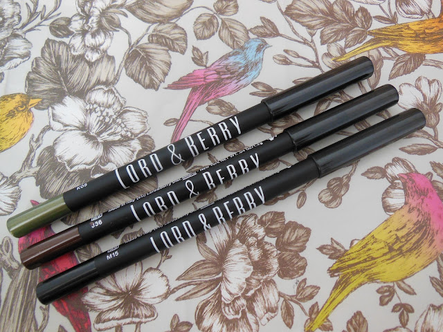 Lord and Berry smudgeproof eye liners