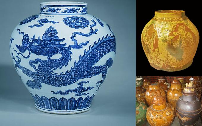 Guci keramik Cina Kuno