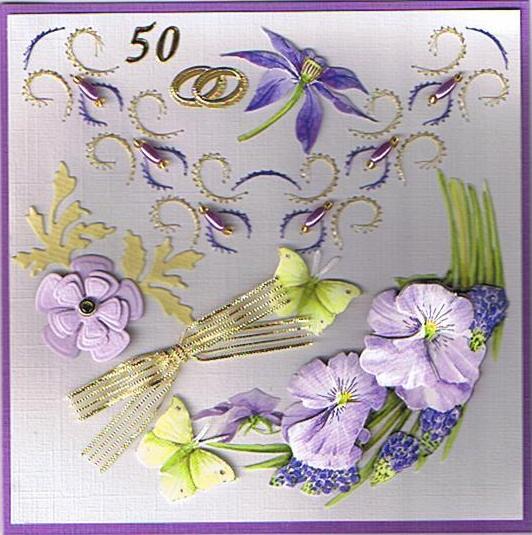 Caro 39 s zelfgemaakte kaartjes 50 jaar samen - Jaar wallpapers ...