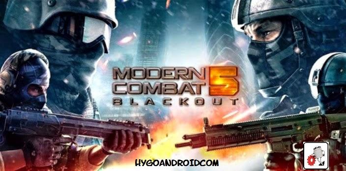 Modern Combat 5 Blackout 1.2.0o Apk
