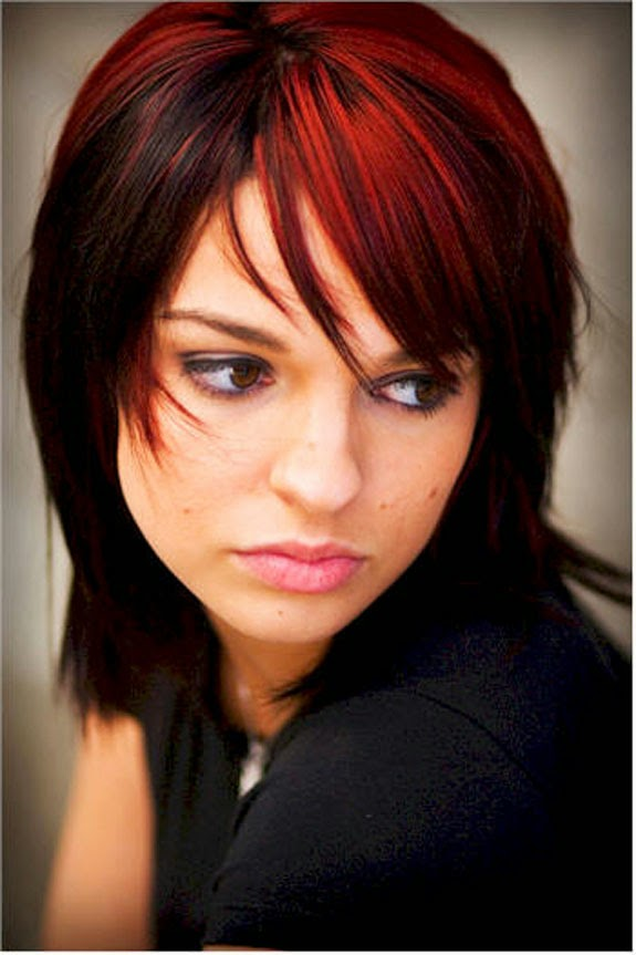 Two Tone Hair Color Ideas Blonde And Red - Red Hair Colors Ideas 2016