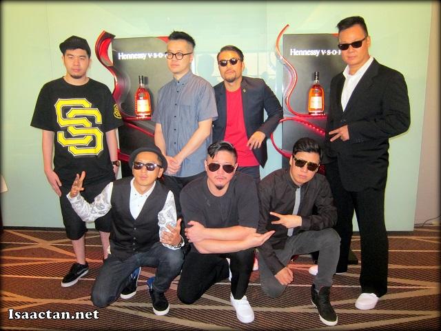 24HERBS (廿四味) Hip Hop Group from Hong Kong posing for my camera
