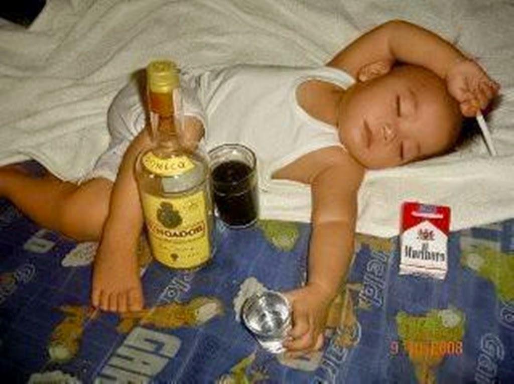 Foto gokil editan bayi lagi mabuk terbaru