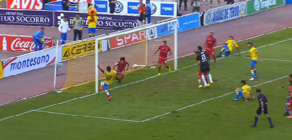 2-0 Gol Araujo ascenso a 1ªDivisión UD Las Palmas