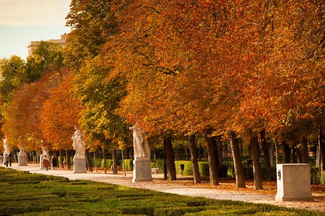 Dinastía real en el Parque del Retiro de Madrid