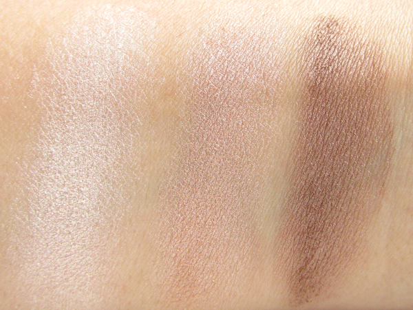 Sante Eyeshadow Trio - 03 Rose Wood - Swatches