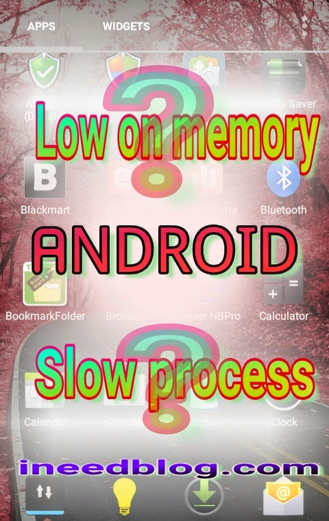 "Pic A- ""low on memory"" crisis."