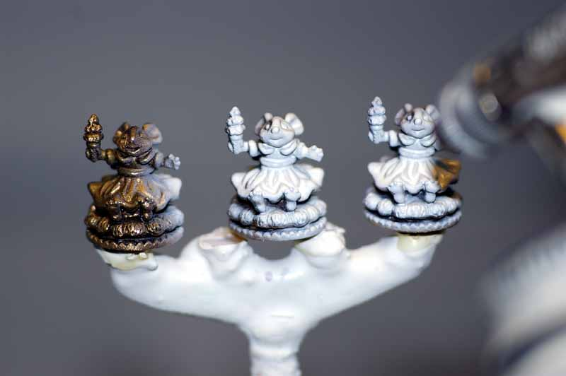 Enamel Paint Colors >> Randall Zadar: How To Paint Miniatures - Airbrushing