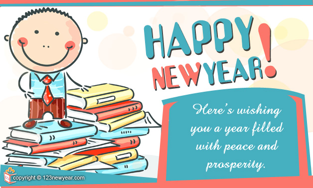Happy New Year 2015 Business Wishes Greeting Cards