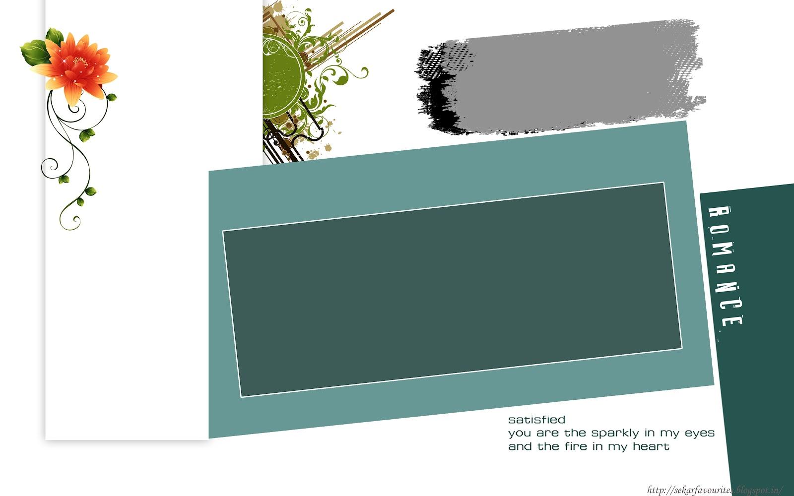 Free Photoshop Frame Templates