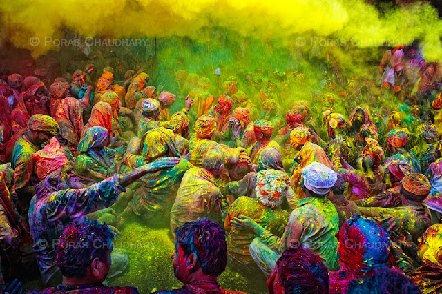 WORLD's MOST COLORFUL FESTIVAL