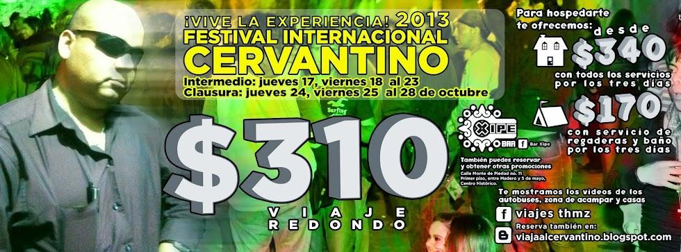 Viaja al Cervantino 2013