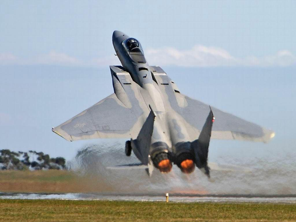 military wallpapers: f-15 eagle wallpapers
