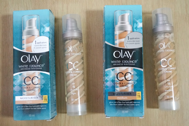 Olay White Radiance CC Cover & Correct Cream SPF 15