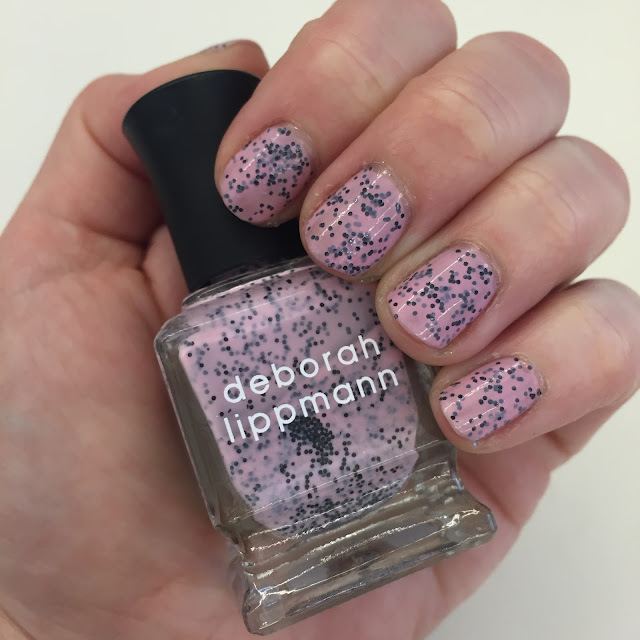 Deborah Lippmann, Deborah Lippmann I'm Not Edible, Deborah Lippmann Spring 2013 Staccato Collection, nails, nail polish, nail lacquer, nail varnish, manicure, On Wednesdays We Wear Pink, Mean Girls, quotes