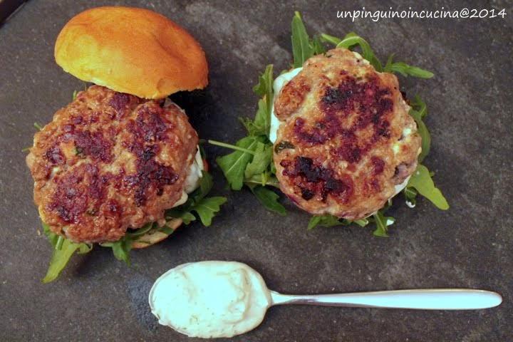 greek style burger