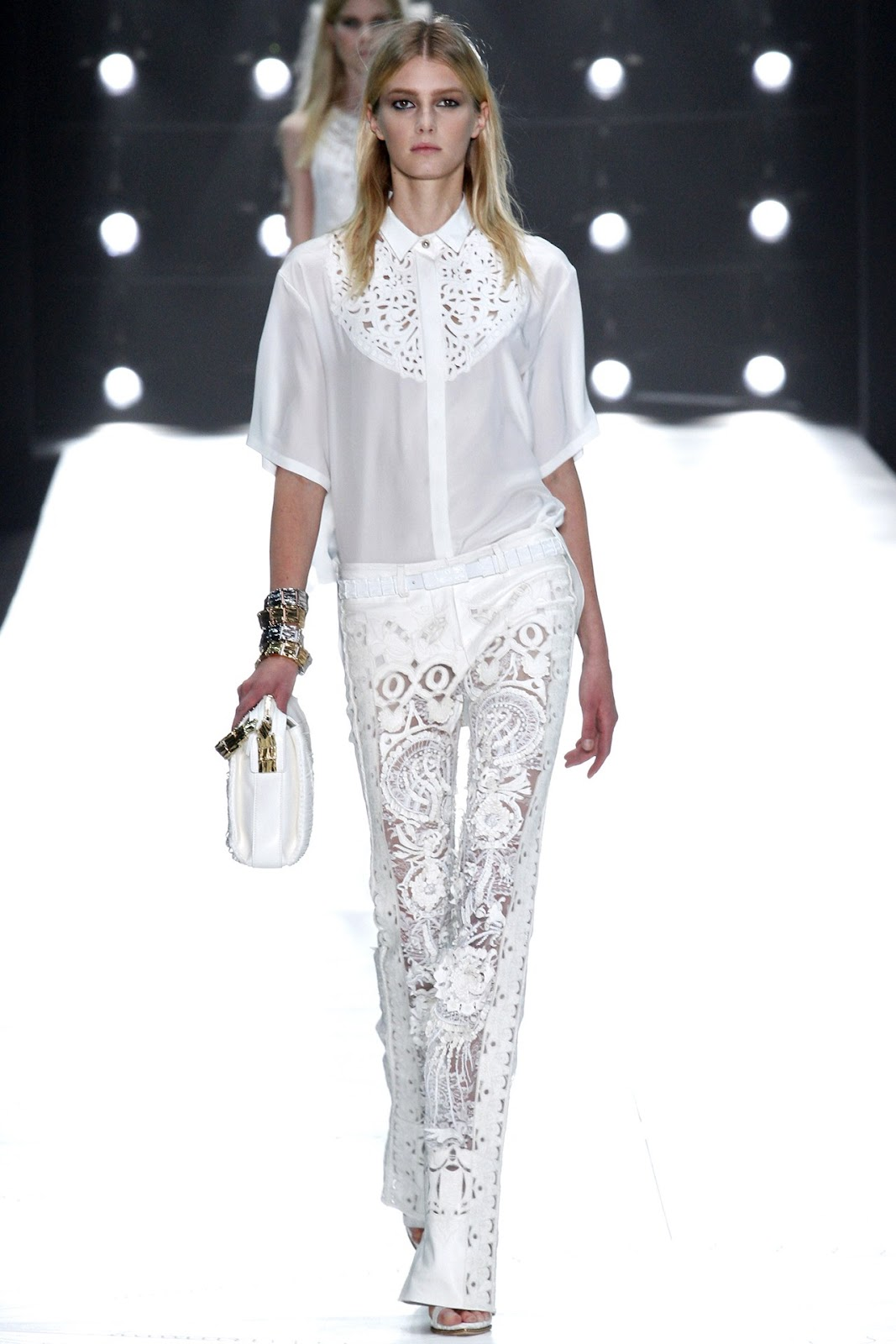 Roberto Cavalli Spring 2013 Milan Fashion Week