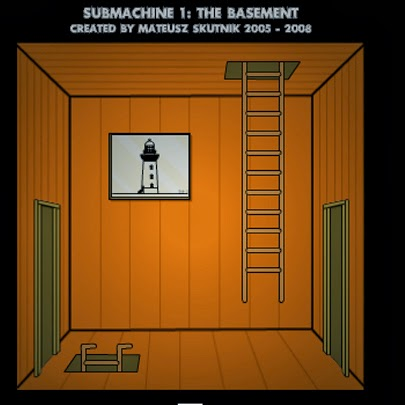 Submachine 1: The Basement, escape games, rawr flash