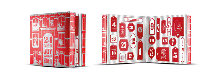 the body shop advent calendar, beauty advent calendar, advent calendar 2014