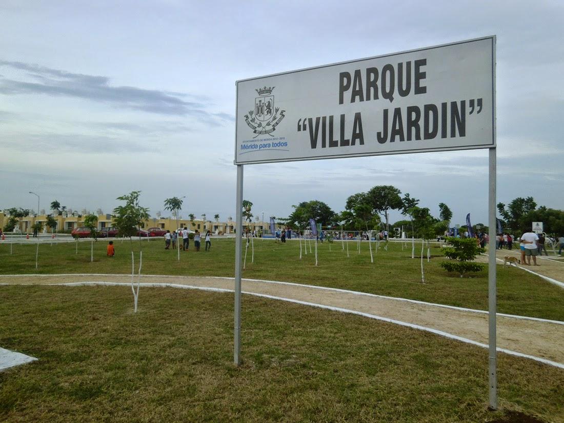 Ayuntamiento de m rida y kanan kab inauguran parque en for Villa jardin caucel