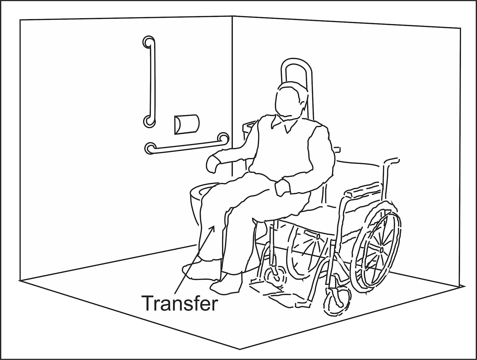 Wheelchair Access Penang Wapenang Toilet WC For Disabled People - Dimensions of disabled toilet