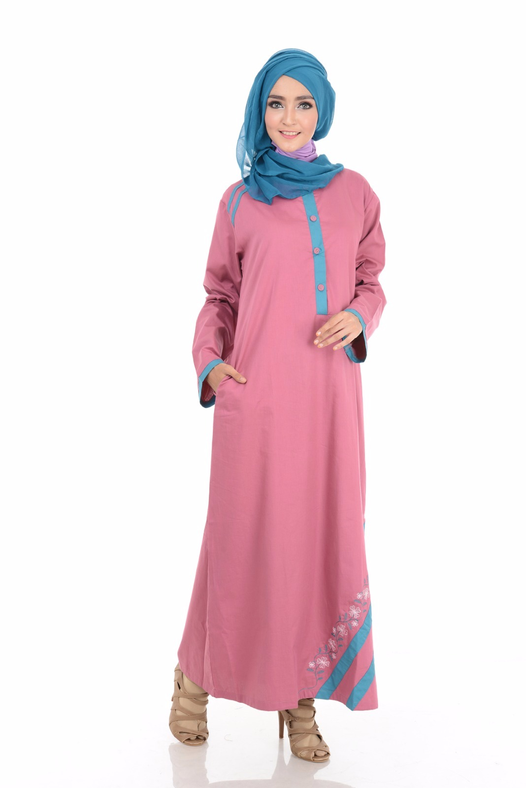 Jual Baju Gamis Muslim Nibras Fashion Collection Terbaru