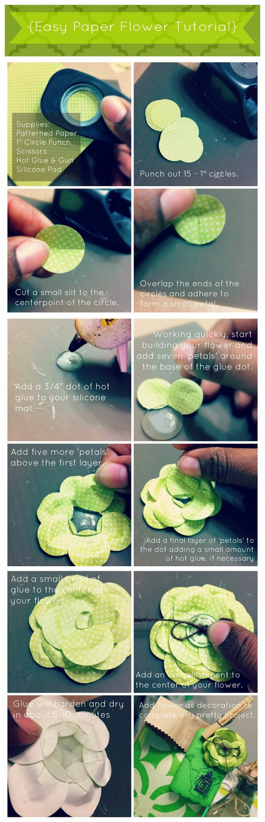 paper flower, paper crafts, spring party