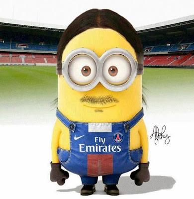 Minion Zlatan Ibrahimovic - Futbol Parodia