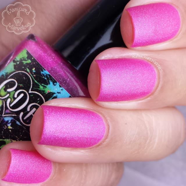CDB Lacquer - Hazy Pink