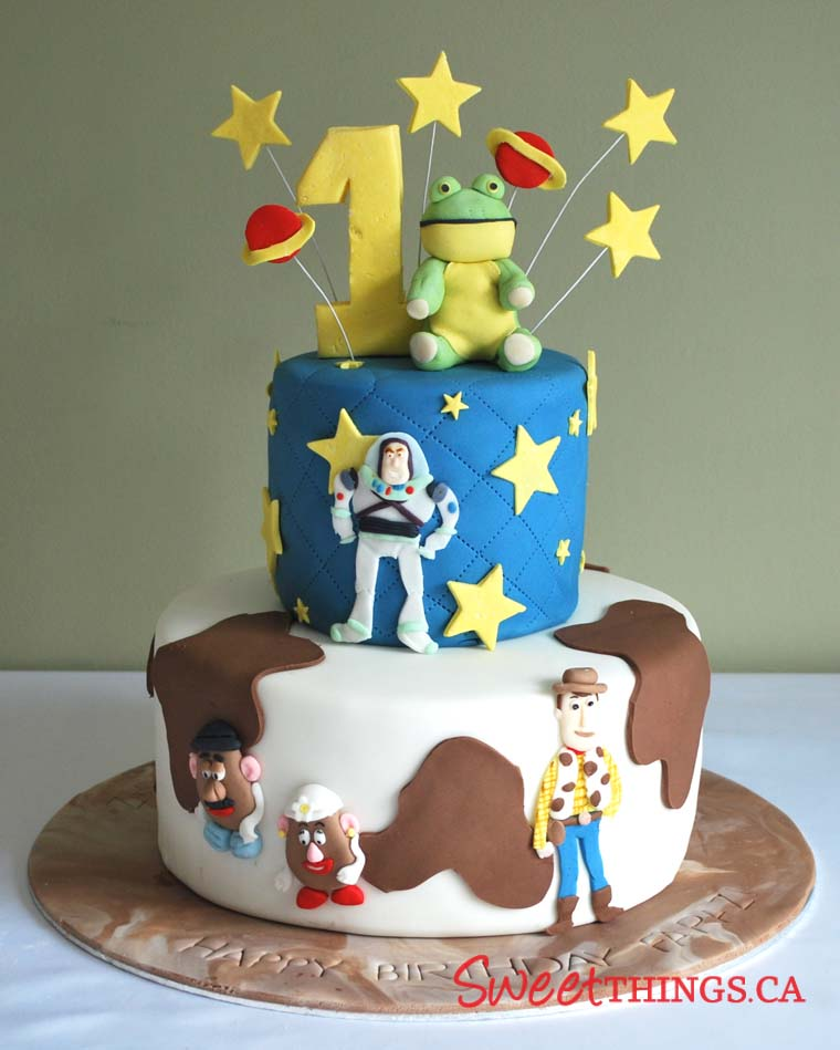Toy Story Cakes For Boys : Sweetthings st birthday cake toy story