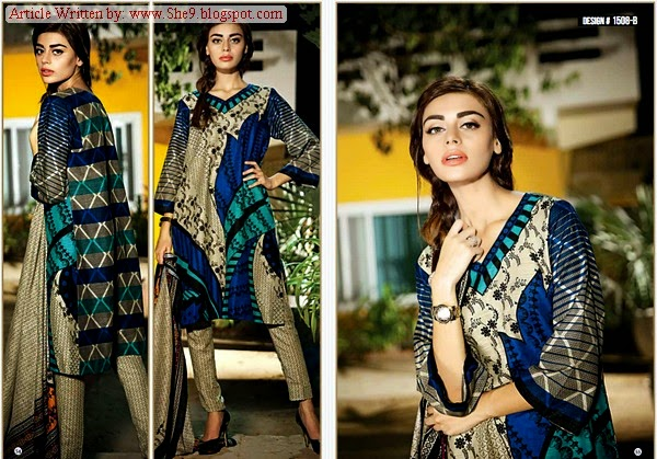 Khaddar Fabric in Winter Season by Ittehad